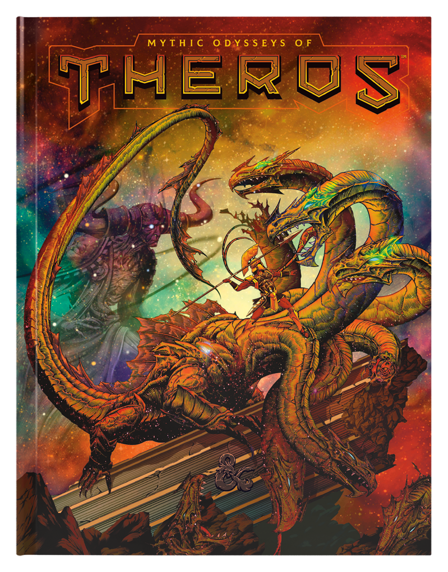 D&D 5th: Mythic Odysseys of Theros (Alternate Cover)