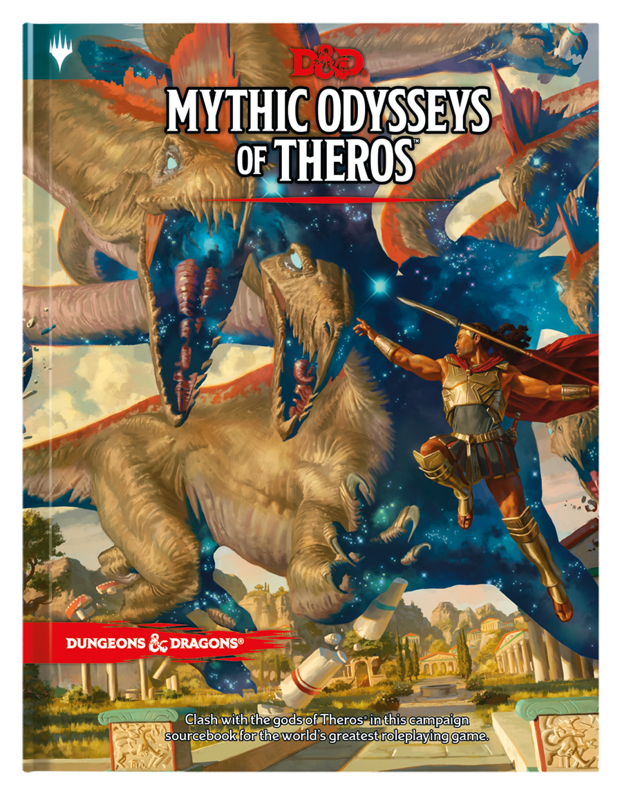 D&D 5th: Mythic Odysseys of Theros